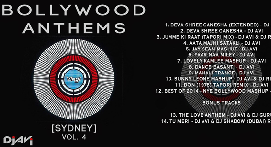 Bollywood Anthems Sydney Vol.4