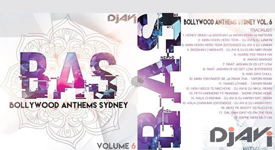 Bollywood Anthems Sydney vol.6