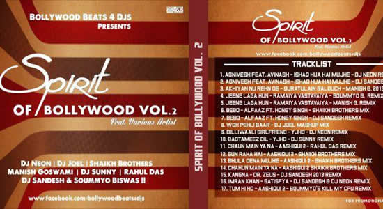 Spirit of Bollywood Vol.2